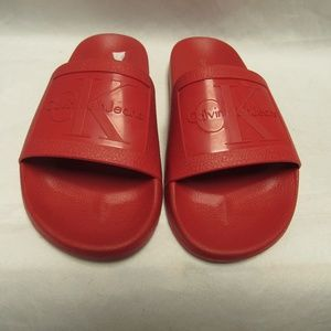 Calvin Klein VINCENZO JELLY RED  SLIP ON